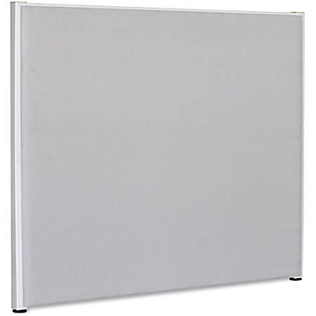 "Lorell® Panel System Fabric Panel, 60""H x 72""W, Gray"