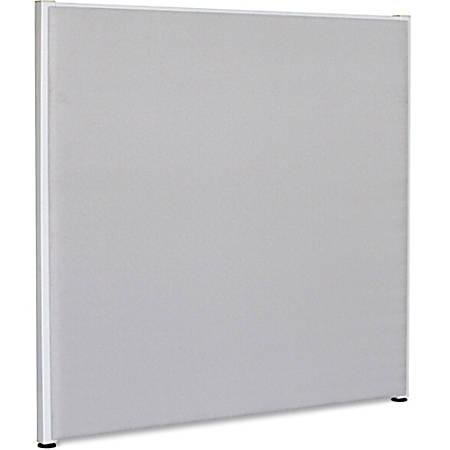 "Lorell® Panel System Fabric Panel, 60""H x 60""W, Gray"
