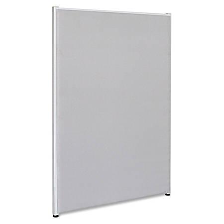 "Lorell® Panel System Fabric Panel, 60""H x 36""W, Gray"