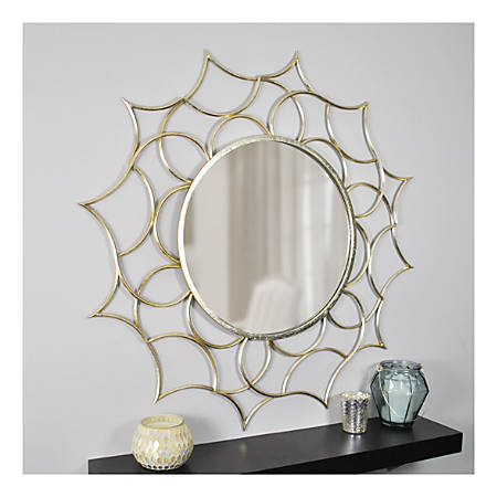 FirsTime & Co.® Channing Round Mirror, Gold