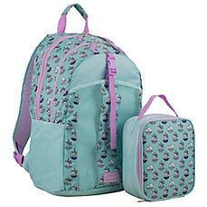 Fuel Unicorn Donut BackpackLunch Bag Set