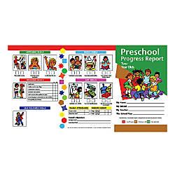 Hayes Preschool Progress Report Cards Age
