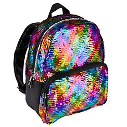 Office Depot Brand Sequined Backpack Rainbow