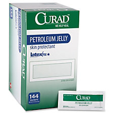 Curad Petroleum Jelly Ointment Packets Ointment
