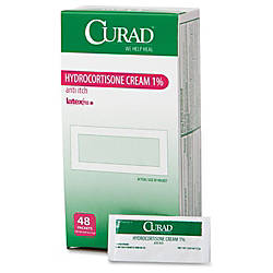 Curad Hydrocortisone Cream 1 Pct Packets