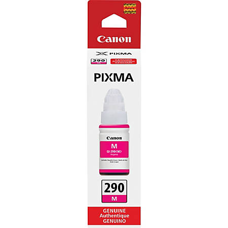 Canon PIXMA GI-290 Ink Bottle - Inkjet - Magenta - 7000 Pages - 2.37 fl oz - 1 Each