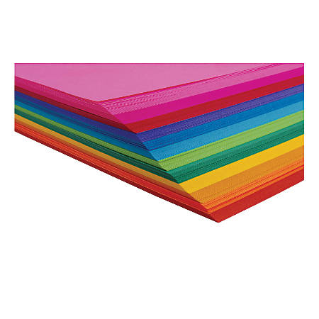 "Hygloss Bright Tag Boards, 11""H x 8 1/2""W x 1/16""D, Assorted Colors, Pack Of 144"