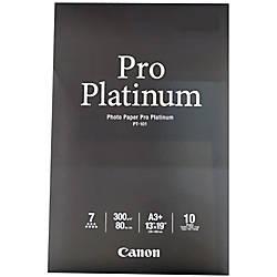 Canon Pro Platinum Photo Paper