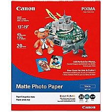 Canon Matte Photo Paper 13 x