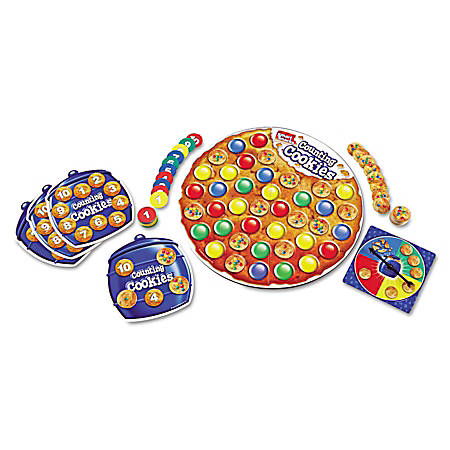 Learning Resources Smart Snacks Counting Cookies Game, Ages 3 - 5