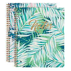 Divoga Tropical Palm Spiral Notebook 8