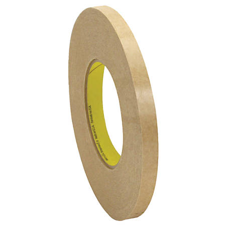 """3M™ 9498 Adhesive Transfer Tape Hand Rolls, 3"""" Core, 0.5"""" x 120 Yd., Clear, Case Of 6"""