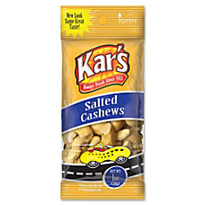 Kars Salted Cashews 1 Oz Box