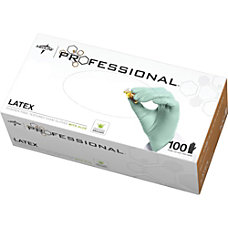 Medline Professional Latex Exam Gloves X
