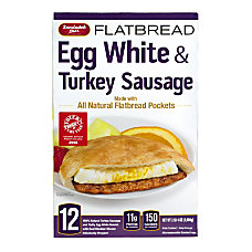 Sandwich Bros Egg White Turkey Sausage