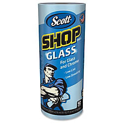 Scott Glass Cleaning Shop Towels 90