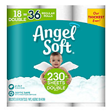 Angel Soft Double 2 Ply Toilet