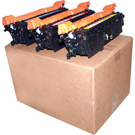 M&A Global CE251A/CE252A/CE253A (HP 504A - CE251A / CE252A / CE253A) Remanufactured Color Toner Cartridges, Pack Of 3