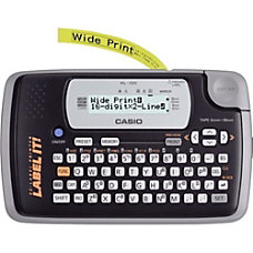 Casio KL 120 Label Maker 6mms