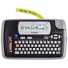 Casio KL 120 Label Maker