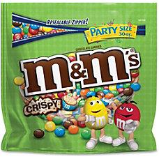 M Ms Crispy Chocolate Candies Milk
