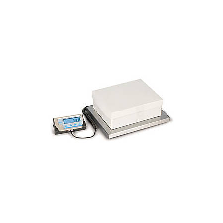 """Brecknell® LPS150 Portable Shipping Scale, 150-Lb Weight Capacity, 2""""H x 17.5""""W x 15.25""""D"""