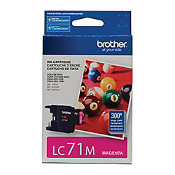 Brother LC71M Magenta Ink Cartridge