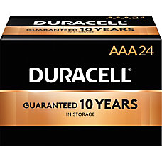 Duracell CopperTop Alkaline Batteries AAA Pack