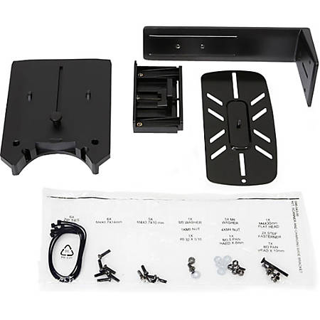 """Ergotron Mounting Bracket for Flat Panel Display - Black - 17"""" to 24"""" Screen Support - 1.54 lb Load Capacity"""