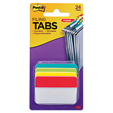 Post it Durable Angled Hanging File