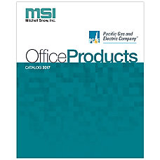 2017 MSI Office Products Catalog