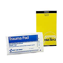 First Aid Trauma Pad 5 x