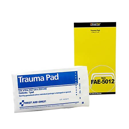 "First Aid Trauma Pad, 5"" x 9"""
