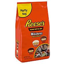 Reeses Peanut Butter Cups Miniatures Assortment