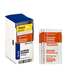 First Aid Only SmartCompliance Antibiotic Ointment
