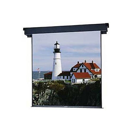 "Da-Lite Boardroom Electrol Projection Screen - 45"" x 80"" - Matte White - 92"" Diagonal"
