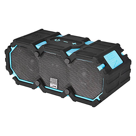 "Altec Lansing® Life Jacket 3s Bluetooth® Speaker, 8.6""H x 4.7""W x 4.2""D, Aqua Blue, IMW578-AB"