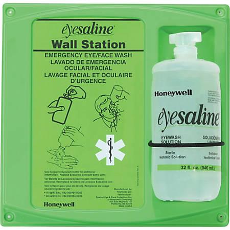 """Eyesaline Eyewash Station - 2 lb - 4.5"""" x 14"""" x 13"""" - Green, Clear"""