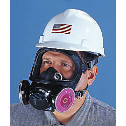 MSA Ultra Twin Silicone Respirator Medium