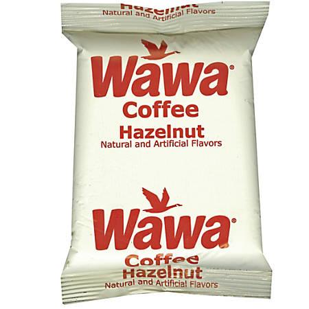 WaWa Hazelnut Coffee, 2.25 Oz, Pack Of 36