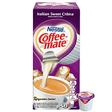 Coffee Mate Italian Sweet Cr me