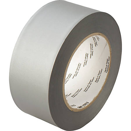 """3M™ 3903 Duct Tape, 2"""" x 50 Yd., Silver, Case Of 24"""