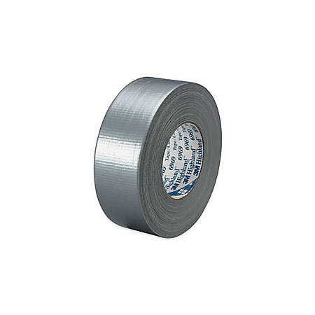 "3M™ 6969 Duct Tape, 2"" x 60 Yd., Silver, Case Of 24"