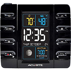 AcuRite Intelli Time Projection Clock with