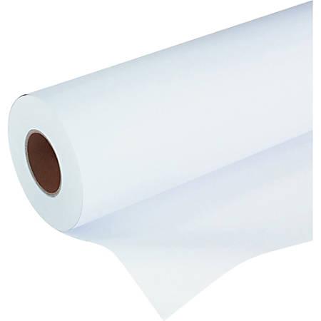 """HP Designjet Inkjet Coated Large-Format Paper, 42"""" x 150', 26 Lb"""