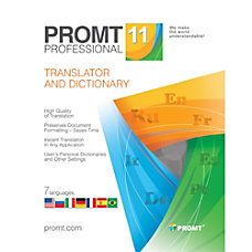 PROMT Professional translator Download Version