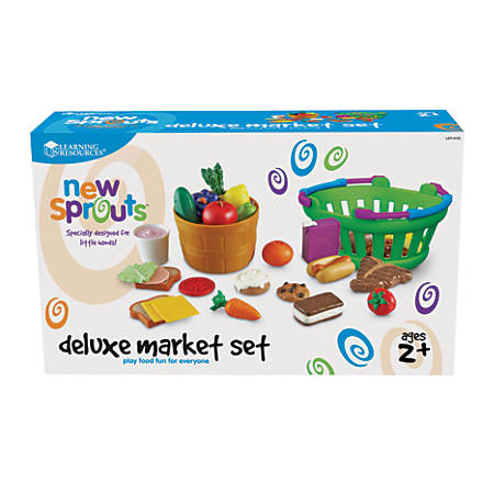 Learning Resources® New Sprouts® Deluxe Market Set, Grades Pre-K - 3