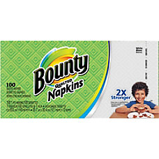 Bounty Everyday Napkins 1 Ply 12