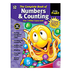 Thinking Kids Complete Book Of Numbers