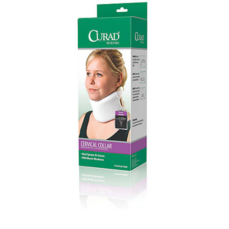 CURAD® Cervical Collars, Universal, Case Of 4
